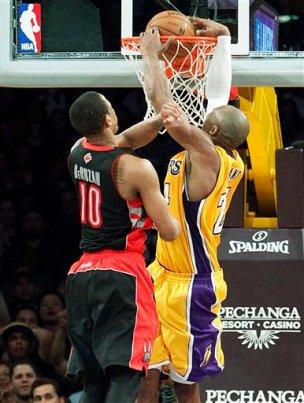 Kobe Bryant, DeMar DeRozan
